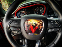 Load image into Gallery viewer, ON SALE!!! Challenger/Charger Custom Steering Wheel Insert (YOUR DESIGN) - Forged Concepts Custom Car Badges