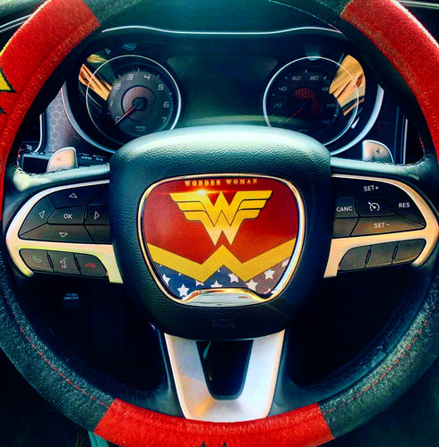 Wonder Woman Steering Wheel Insert - Forged Concepts