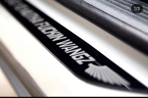 Custom Door Sills (2) ANY Design CHALLENGER - Forged Concepts Custom Car Badges