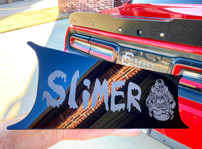 Custom Tail Light Divider NON COLOR (your design) - Forged Concepts Custom Car Badges
