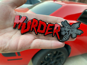 Murder Hornet Badge - Forged Concepts Custom Car Badges