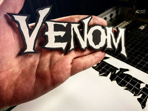 Venom Badges (2) - Forged Concepts Custom Car Badges