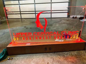 Large Signage LED Lit - Forged Concepts Custom Car Badges