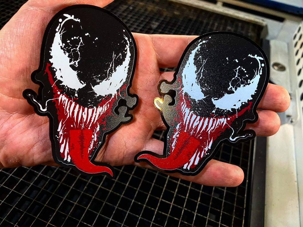 Venom Full Color Badge Set - Forged Concepts