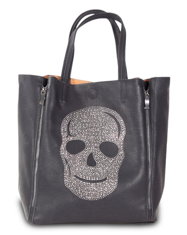 Shoreditch - Gunmetal Skull
