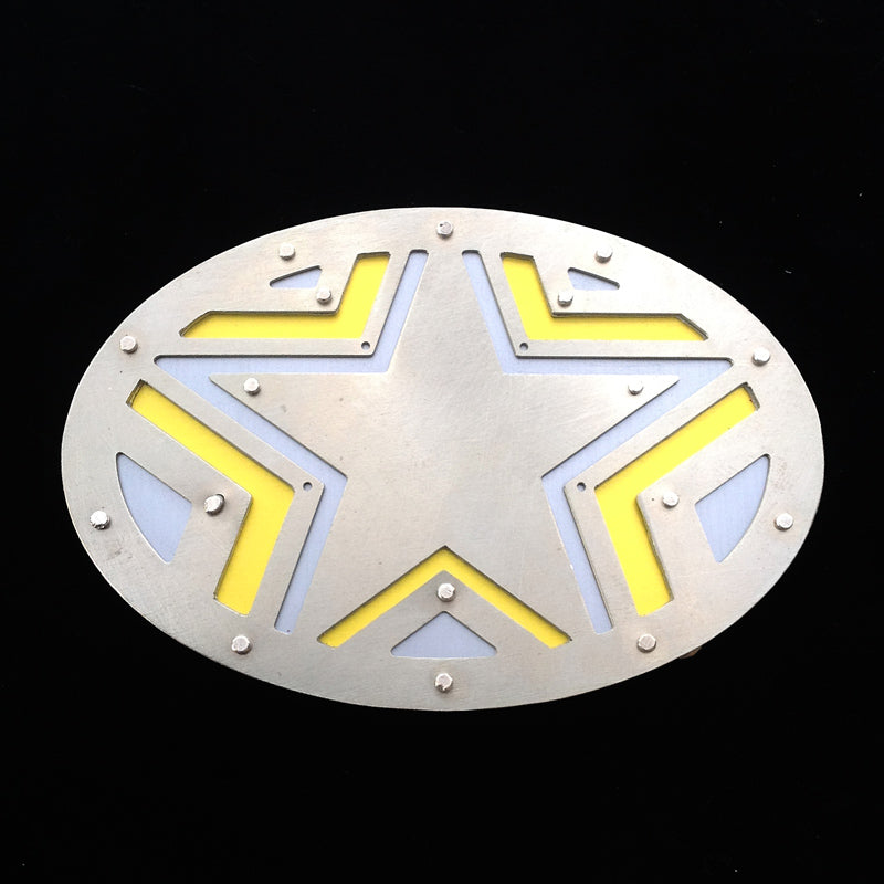 Single Star Belt Buckle