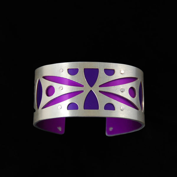Small Two Tone Spear Cuff