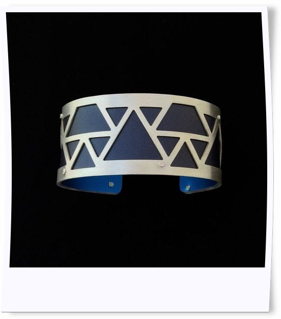 Small Mountain Triangle Cuff