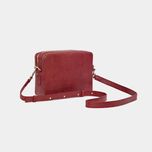 Laden Sie das Bild in den Galerie-Viewer, Umhängetasche Crossbody Bag Camara Dark Red