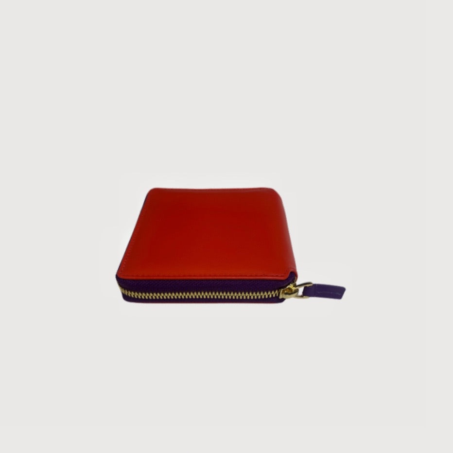 Square Wallet Deluxe Two-colored