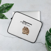 Load image into Gallery viewer, guinea pig Laptop Sleeve