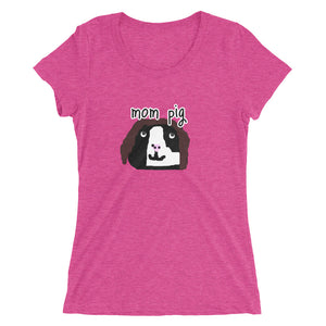 mom pig short sleeve t-shirt