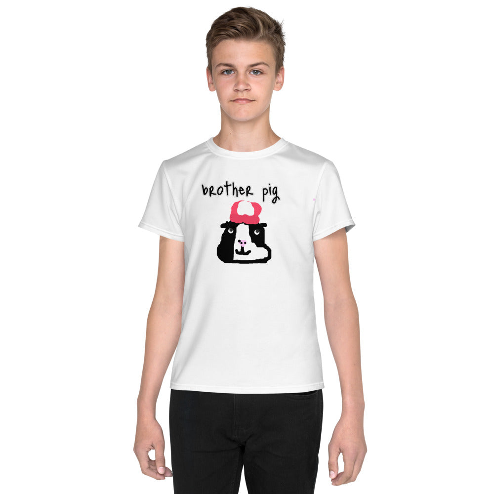 gunea pig brother Youth T-Shirt