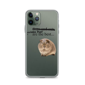 guinea pigs are the best iPhone Case