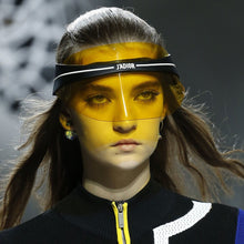 Load image into Gallery viewer, Dior Club 1 Yellow Visor Sunglasses