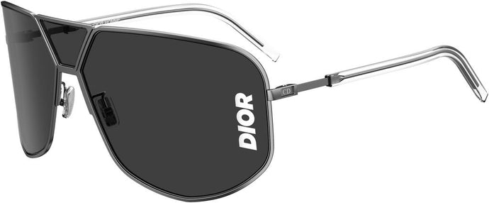 Dior Ultra Logo Black Shield Sunglasses