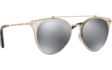 Load image into Gallery viewer, Valentino 2019 Chain Mesh Aviator Sunglasses