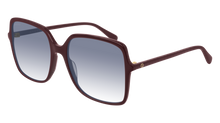 Load image into Gallery viewer, Gucci 0544S Oversized Burgundy Square Sunglasses