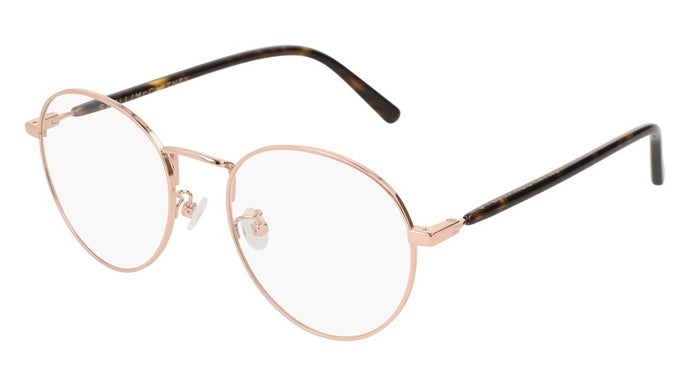 Stella McCartney SC0126O Rose Gold Metal Round Eyeglasses Frames