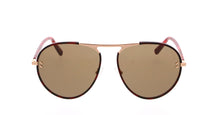 Load image into Gallery viewer, Stella McCartney SC0133S Metal Aviator Sunglasses in Dark Brown