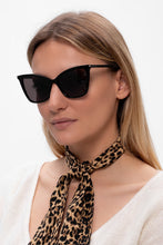 Load image into Gallery viewer, Saint Laurent SL384 Cat Eye Sunglasses in Black