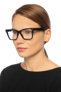 Celine CL50023F Havana Brown Cat Eye Eyeglasses Frames