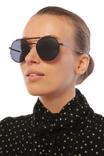 Load image into Gallery viewer, Dior Homme 0234 Round Sunglasses in White/Silver Mirrored