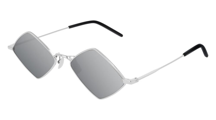 Saint Laurent SL302 Lisa Sunglasses in Silver