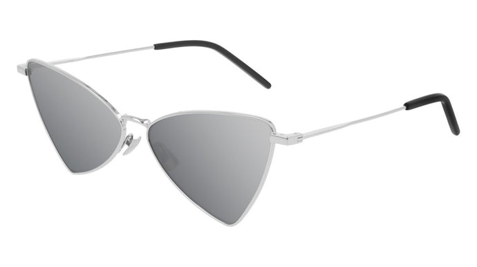 Saint Laurent SL303 Jerry Sunglasses in Silver Mirrored