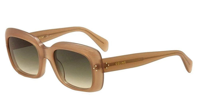 Celine 41044 Thick Square Oversized Sunglasses