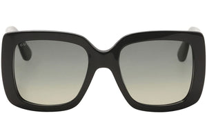 Gucci GG0141S Square Black Logo Sunglasses