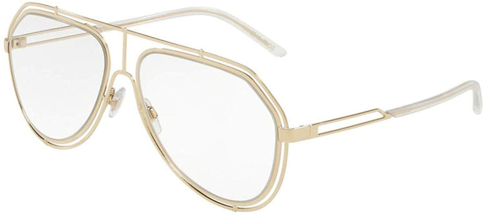 Dolce Gabbana 2176 Clear Aviator Sunglasses