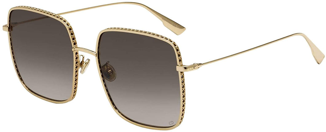 Dior DiorByDior3F Gold Square Sunglasses