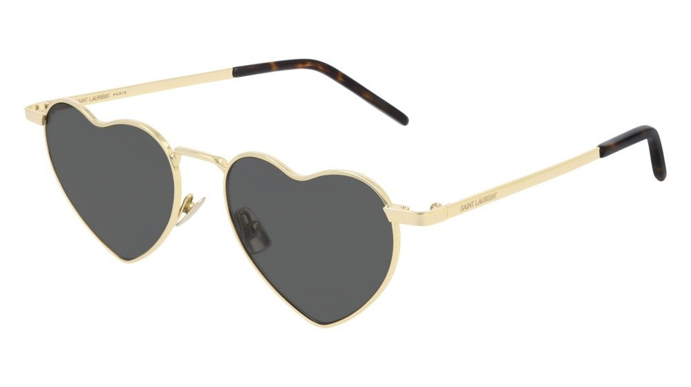 Saint Laurent SL301 LouLou Sunglasses in Gold