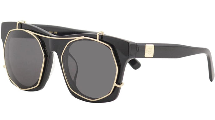 MCM 605S Black Clip On Sunglasses