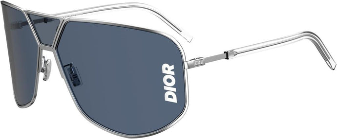 Dior Ultra Logo Dark Blue Shield Sunglasses