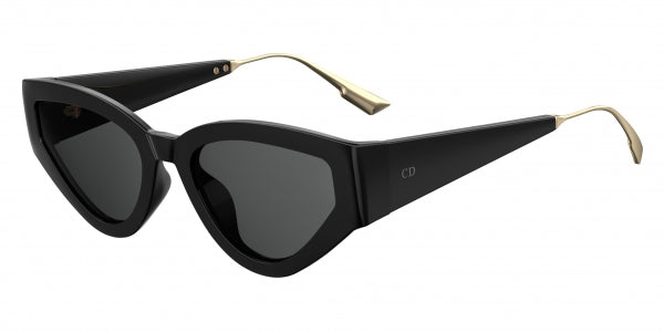 Dior CatStyleDior1 Cat Eye Sunglasses in Black
