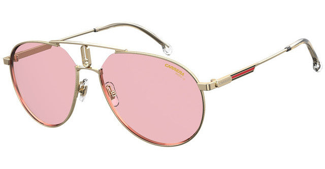 Carrera 1025/S Aviator Sunglasses in Gold Pink