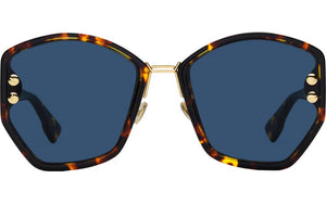 Dior Addict 2 Sunglasses in Havana Brown