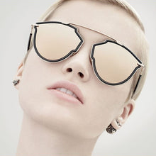 Load image into Gallery viewer, Dior SoRealRise Aviator Sunglasses in Smoke Gold Mirror