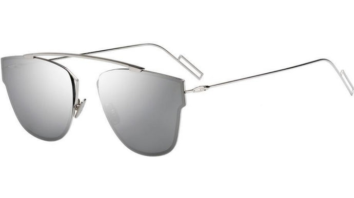 Dior 0204 Aviator Mirrored Sunglasses in Silver Mirrored