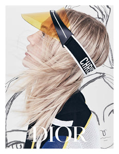 Dior Club 1 Yellow Visor Sunglasses