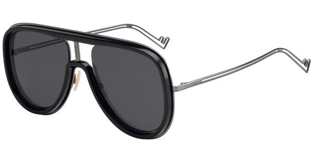 Fendi M0068/S Oversized Unisex Aviator Sunglasses in Black