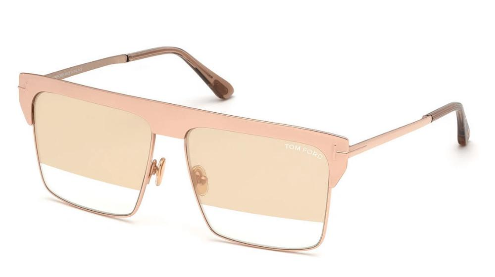 Tom Ford West Limited Edition Gold Plated Sunglasses in Rose Gold