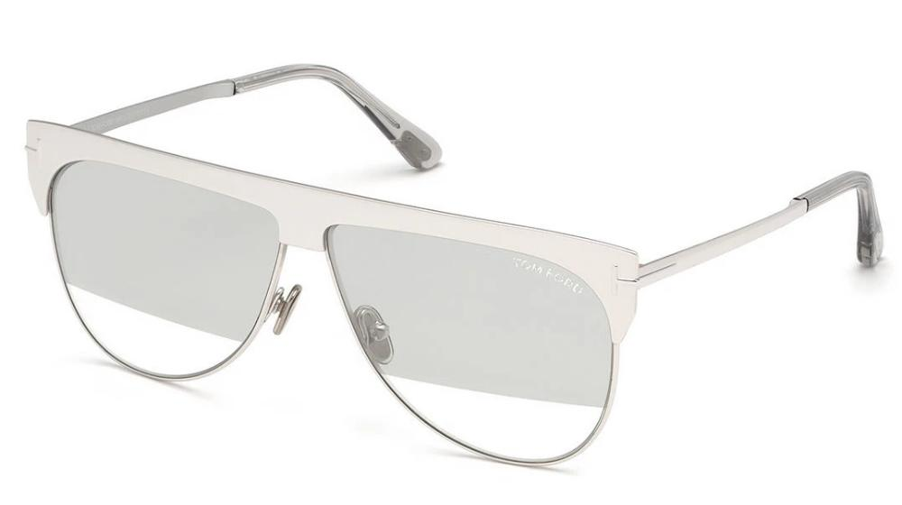 Tom Ford Winter Limited Edition Gold Plated Sunglasses in White Gold