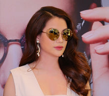 Load image into Gallery viewer, Chopard Limited Edition Cannes Gold Mirrored Sunglasses