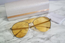 Load image into Gallery viewer, Jimmy Choo Ave Tinted Lens Aviator Sunglasses in Yellow