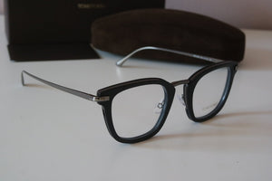 Tom Ford 5496 Matte Square Eyeglasses Frames in Black
