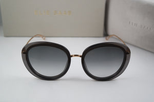 Elie Saab ES007 Cat Eye Sunglasses in Dark Grey