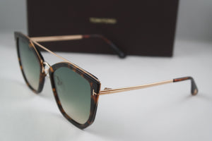 Tom Ford Dahlia Sunglasses in Brown